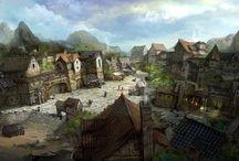 Готик города, деревни