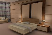 Interiors International Bedroom Design / Various bedroom designs with different moods and design styles created for our clients