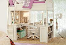 Girls Rooms / by Rhondi DiGiorno ~ Big Mama's Home Kitchen
