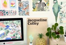 Studio Style / Inspiration for my creative workspace