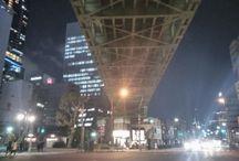 シカゴっぽい秋葉原。 Akihabara Tokyo #snapshot #japaneseview #akihabara #akiba #aviewoftokyo #nightview #秋葉原 #シカゴっぽい #行った事無いけど写真