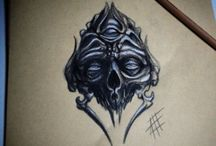 Sketch , Draw , Art , Artwork , Illustration , Design for tattoo by Ale Spike / Draw and Artwork