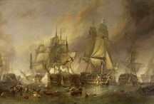Naval Battles of History / A collection of images and depictions of naval battles and engagements throughout history and around the globe.