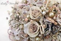 Flowers - fabric flowers / by English Wedding Blog