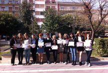 """Vocational practice in Italy..."" Erasmus+ KA1 Poland / Hairdressing"