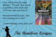 The Rainbow League / Quote cards, inspiration photos, and baseball miscellany related to the Rainbow League series by yours truly. (Romance series about guys who play for an LGBT baseball league.)