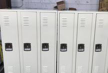 Northland Community School - Remer, MN #DeBourgh #Lockers / #Rebel #Latte #SentryTwoLatch #LouveredVentilation #PianoHinge #DeBourgh #Lockers