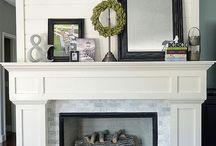 Staging a Fireplace Mantel / Don't neglect your fireplace mantel when staging your home. www.academyrealty.com