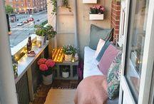 Balkony ideas & diy