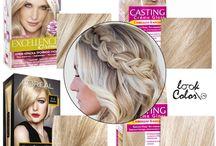 Волосы: Стрижки, цвет
