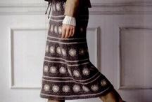 юбка вязаная