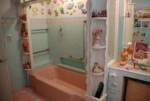 Pink bathrooms / by Amy Griffith Graydon