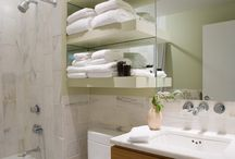 Bathroom storage & shelves