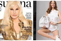 Tejidos Agostina Bianchi - SS017 Revista Susana
