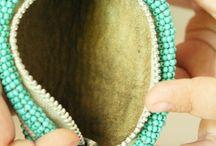bead pouches