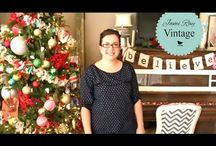 How to Reclaim and Chalk Paint / www.youtube.com/jamirayvintage