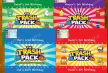 Trashies Party / Rhylee's 5th Birthday