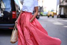 Long skirt/ dress