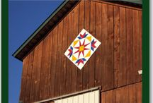 BARN QUILTS / QUILT PATTERNS PAINTED ON BARNS ACROSS THE U.S.