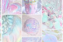 pastel unicorn stuff