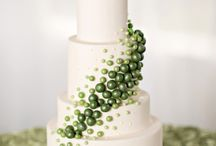 Green and White Weddings