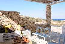 KOUFONISI VILLAS - KEROS HOUSES / Spacious, airy and tastefully decorated, the villa's construction design provides effective protection from the wind.