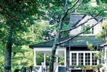 Home exteriors / by Stacy