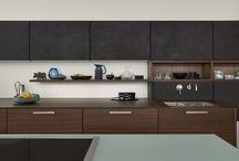 Concrete Kitchens / Examples of the Leicht Kitchen Design Centre's beautiful lacquered concrete kitchen ranges