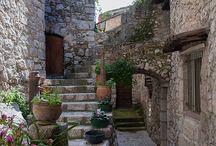 Places Medieval Towns / Aldeas Medievales
