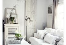 Interior - white living / examples for nice white living spaces