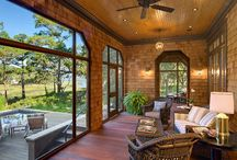 Florida Room & Front screened porch idea's