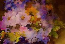 Kwiaty / malarstwo