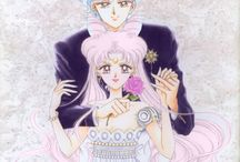 Sailor moon and royal family
