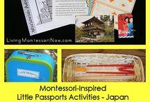 Montessori Geography Asia / Montessori Asia theme & resources