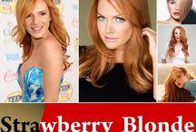 Strawberry blond 2016