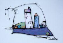 Glass art / Glass stained glass glass art