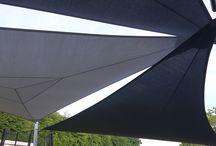 VOILE D'OMBRAGE / Fabrication sur mesure et installation de voiles d'ombrage étanche ou pour la saison estivale.