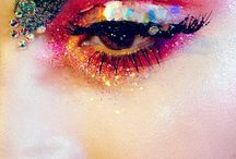 BEAUTY / colourful and fun make up and beauty looks.