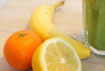 recepten - smoothies & gezonde sapjes