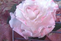 Floral cold porcelain