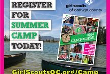 Camp Scherman / Camp. Is. Awesome. / by GirlScoutsOC