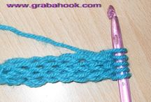 Crochet: Stitches, Tips, Etc... / by Anna Ukkonen