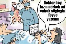Tıbbi Mizah, Medical Humour, Medikal Mizah, Dr Mizah, Sağlık mizah, Tıp karikatürleri, doktor karikatürleri