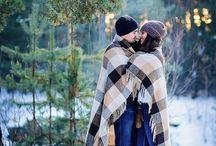 Love story  в лесу