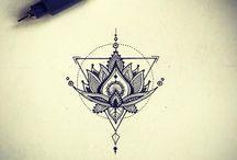 loto flowers tattoo
