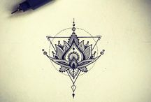 Design du tatouage de lotus