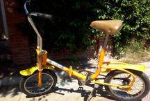 Remade Brevettato folding bicycle bike klapprad / Folding bicycles bike klapprad late 70's