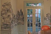 Dekorativt inredningsmåleri