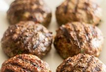 Burger Madness / Tired of plain old burgers? Mix it up! Different meats, toppings and preparations. Get started!