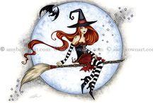 Amy Brown halloween fairy